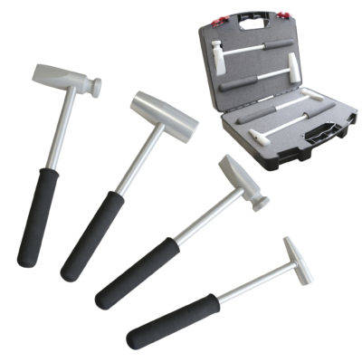 Set of Aluminum Hammers